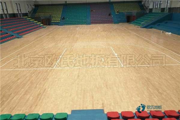 一般篮球场馆地板施工团队