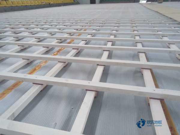 一般篮球场馆木地板施工工艺