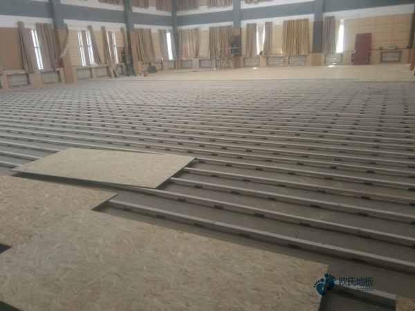 一般运动体育木地板施工单位