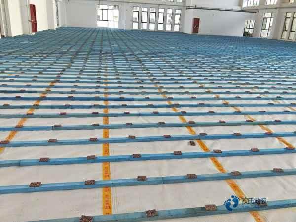 一般运动场木地板施工团队