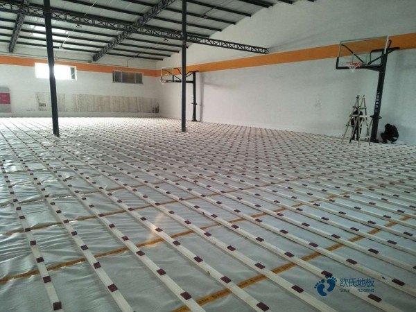 一般运动木地板施工单位