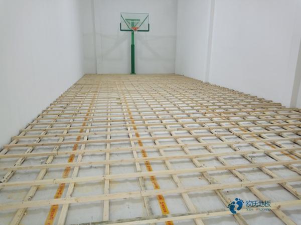 一般运动馆木地板施工方案