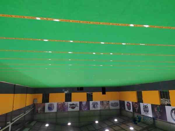 专用篮球场馆地板施工步骤