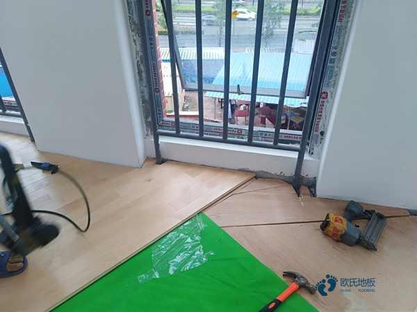 专用篮球场馆木地板施工工艺