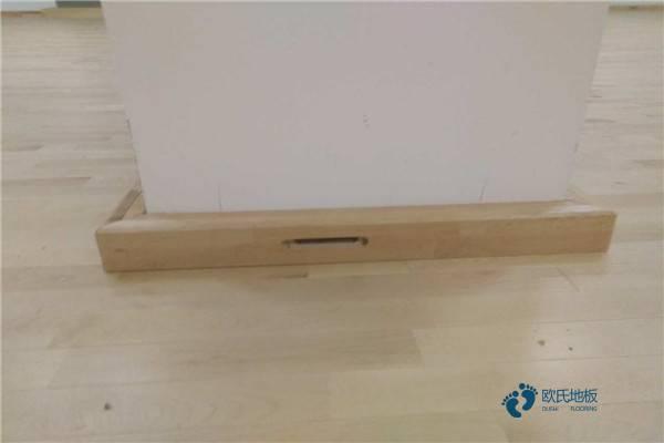 专用运动地板施工工艺