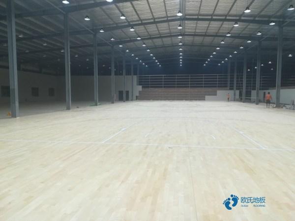 专用运动型地板施工工艺