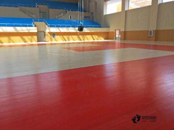 中学体育运动地板安装公司