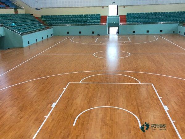 运动场馆木地板生产