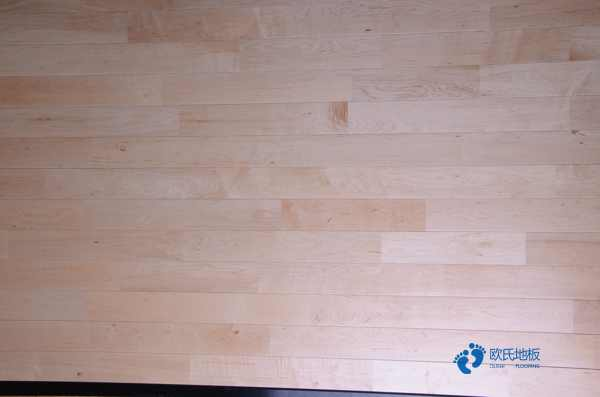 中等运动场木地板施工流程