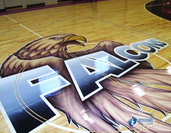 中等运动篮球地板施工工艺