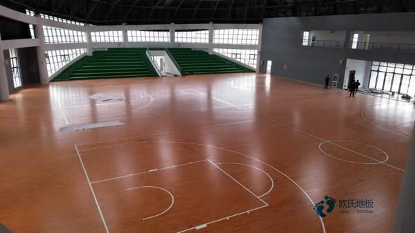 单层龙骨体育篮球地板如何保养