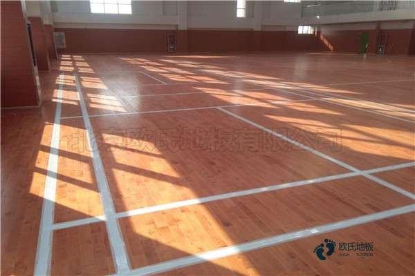 运动型木地板材料有哪些