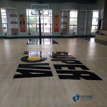 单层龙骨篮球运动地板维护保养