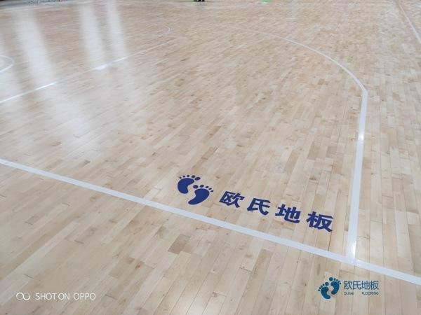 单层龙骨运动场地板保养