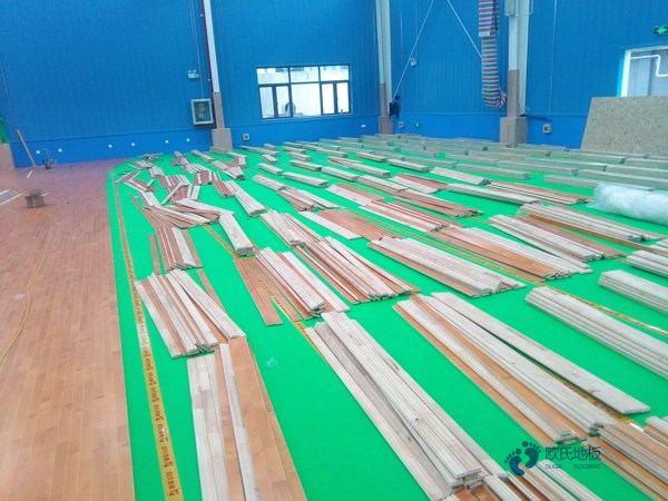 单层龙骨运动型木地板保养知识