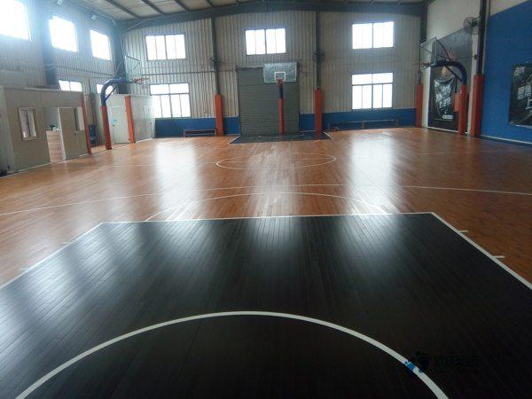 单龙骨运动篮球木地板安装公司