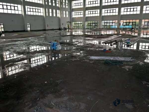 悬浮式篮球运动木地板地面材料