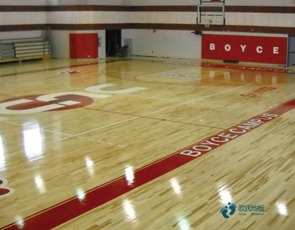 哪有体育场地木地板哪个牌子较环保