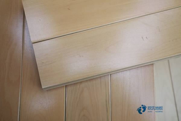 悬浮式篮球运动木地板的种类