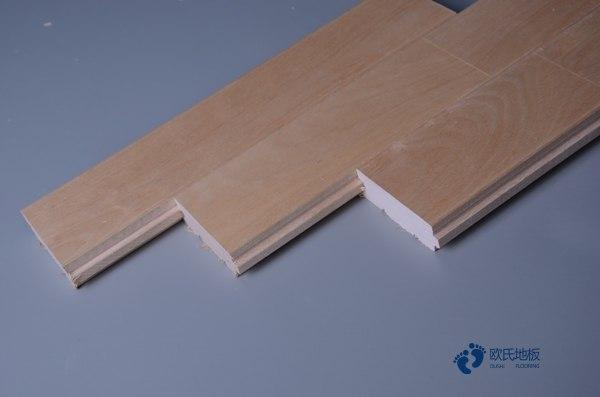 悬浮式篮球运动木地板结构