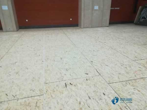 专用体育木地板1