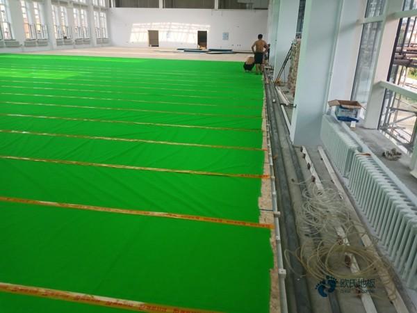 国产运动地板安装公司
