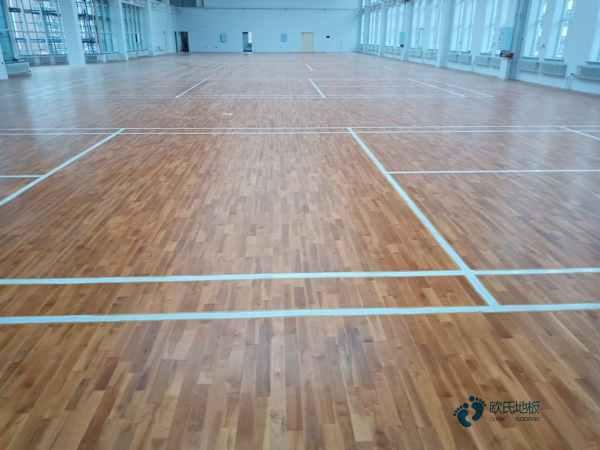 体育篮球木地板价格多少2
