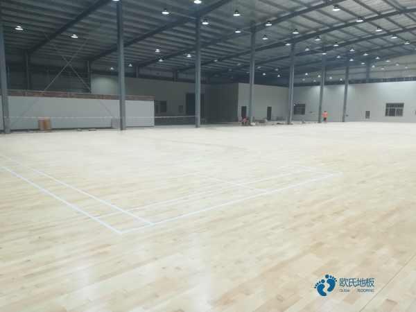 国标篮球场地板厂家报价