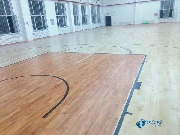 国标篮球场木地板厂家报价