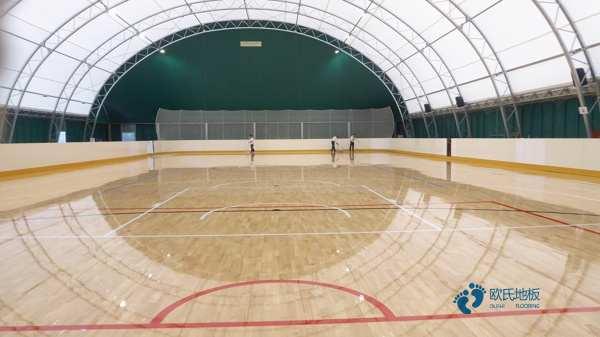 国标篮球运动地板安装公司