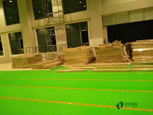 体育运动木地板价目表2