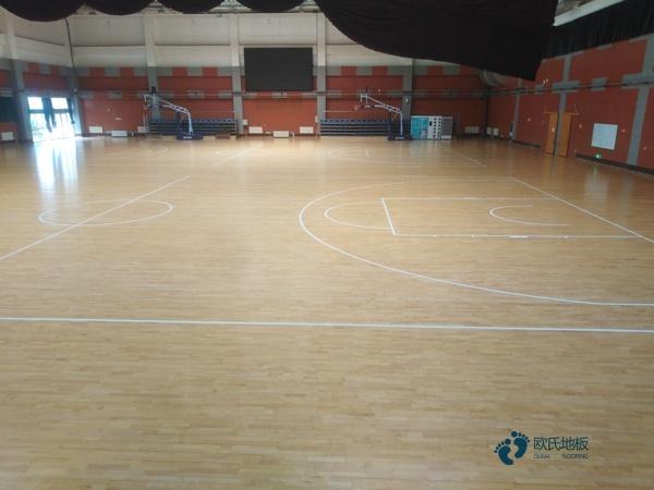 学校体育运动木地板厂家报价
