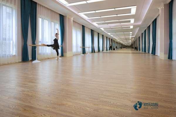单层龙骨体育场馆木地板3