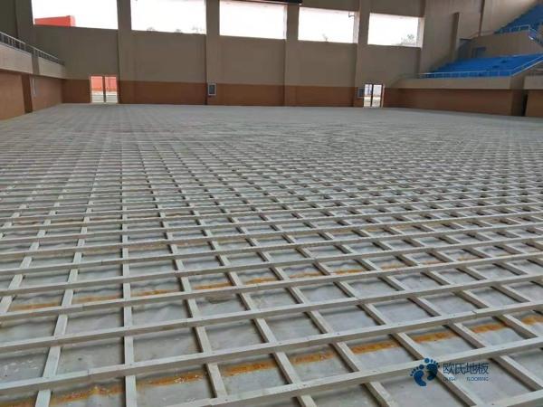 学校篮球场地板技术参数